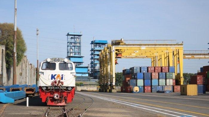 Distribusi Logistik Lebih Mudah dengan Integrasi Layanan Kereta Api dan Pelabuhan