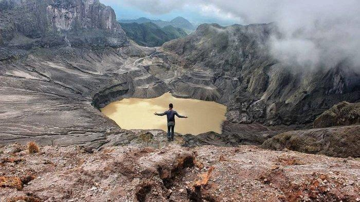 Legenda Gunung Kelud yang Dipercaya Masyarakat, Berawal dari Penghianatan Cinta Sang Dewi