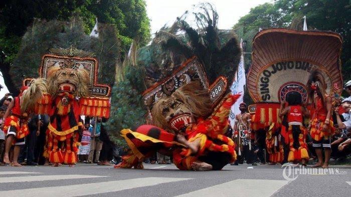 Cerita Rakyat Jawa Timur, Sejarah Reog Ponorogo, Tarian Perang Kerajaan Kediri dan Kerajaan Ponorogo