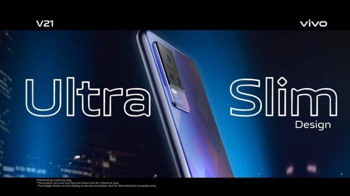 Smartphone Canggih vivo V21 Berkamera 44MP AF Super Night Selfie dan Ultra Slim Design