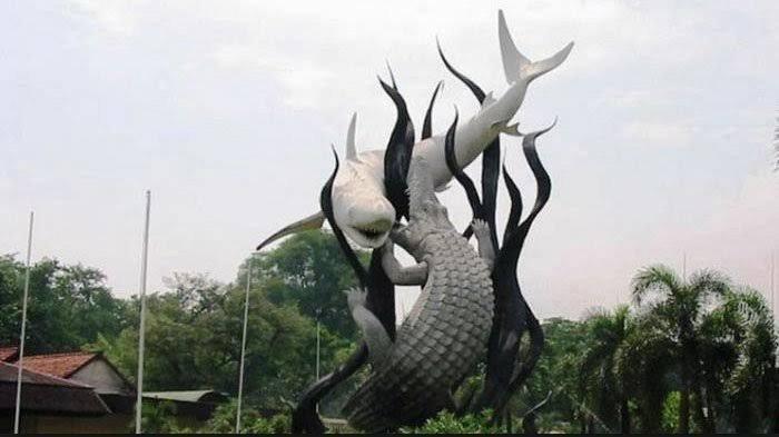 Asal Usul Nama Kota Surabaya yang Berasal dari Dongeng Pertempuran Ikan Hiu Sura dan Buaya