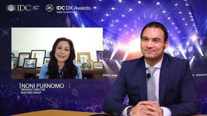 Bluebird Raih Penghargaan 'Digital Transformer' pada IDC Digital Transformation Awards 2020