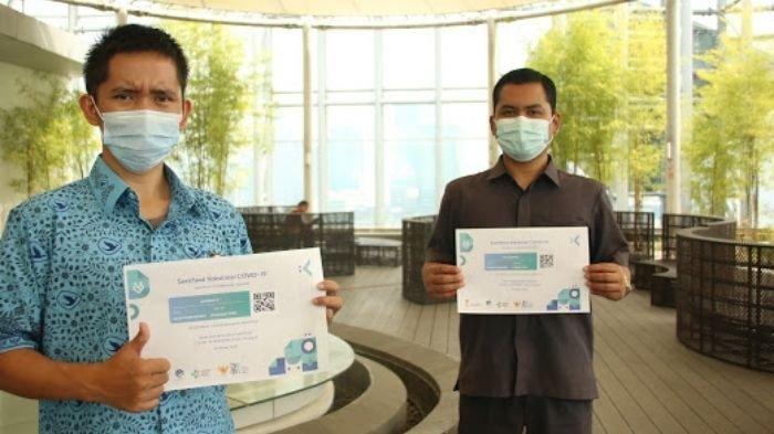 Dua Driver Taksi Ini Beberkan Pengalaman Paska Vaksinasi Covid-19, Tensi Sempat Tak Normal