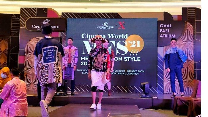Busana Batik Kombinasi Kain Kasur hingga Koleksi Raya yang Meriah Warnai Men Fashion Style 2021