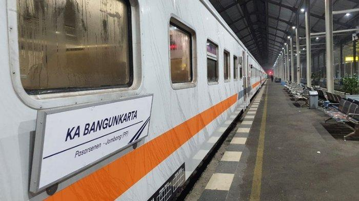 Rute Terbaru Kereta Api Bangunkarta, Kini Berangkat dari Stasiun Jombang