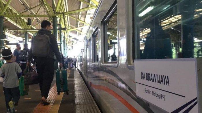 Kabar gembira, Kini Kereta Api Brawijaya Beroperasi Melayani Rute Stasiun Malang ke Stasiun Gambir