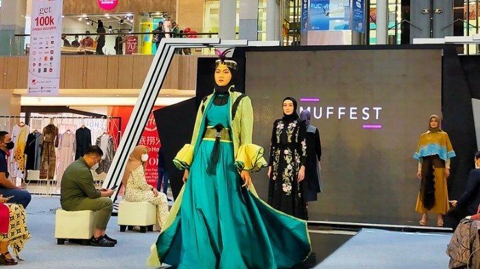 Busana Berkonsep Upcycle Fashion Mewarnai Gelaran MUFFEST 2021 di Pakuwon Mall Surabaya