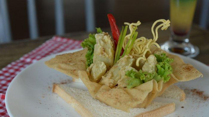 Potato Wedges, Makanan Ringan Pelengkap Mocktail di Regantris Hotel Surabaya