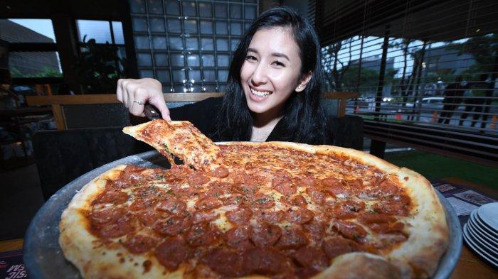 Nikmati Menu Spesial dari Pizza e Birra 'Giant Pizza', Pizza Khas Amerika Serikat