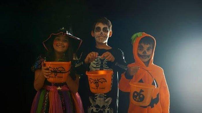 Tradisi Trick-or-Treat saat Halloween