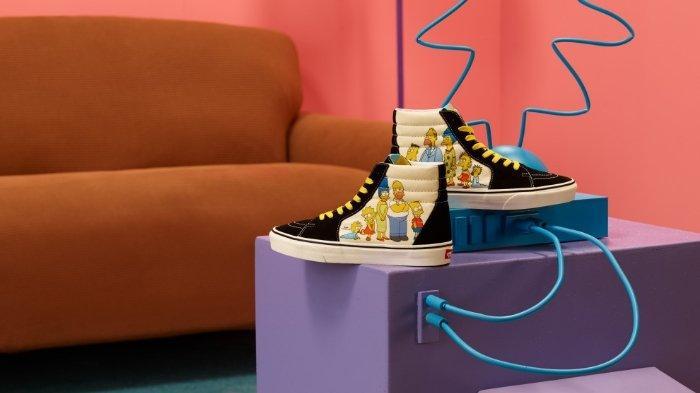 Wilio Hadirkan Koleksi Kolaborasi Eksklusif Vans dan The Simpsons, Limited Edition!