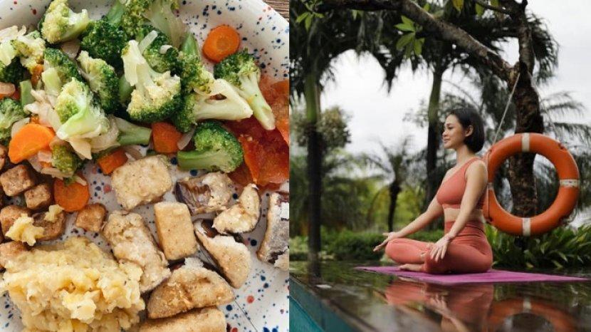 Tips Hidup Sehat ala Influencer Andien Aisyah, Perhatikan Isi Piring hingga Terapkan 'Mindfulness'