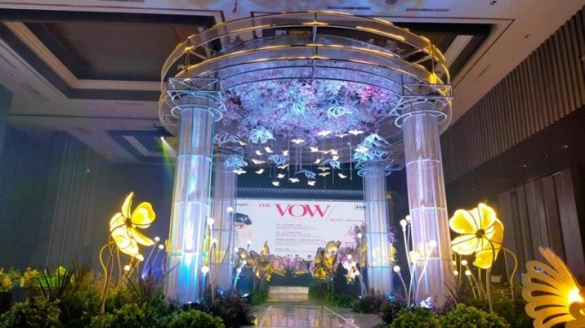 Rayakan Pernikahan di DoubleTree by Hilton, Ada Grand Ballroom hingga Ruang 360 Derajat City View