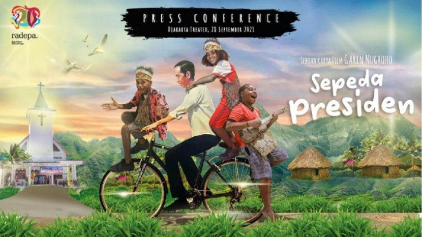 Kisah Lucu 3 Anak Papua Ingin Hadiah Sepeda dari Jokowi dalam Film Sepeda Presiden