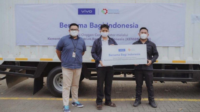 Lewat Kemenperin, vivo Indonesia Salurkan 100 Oxygen Concentrator untuk Bantu para Pasien Covid-19