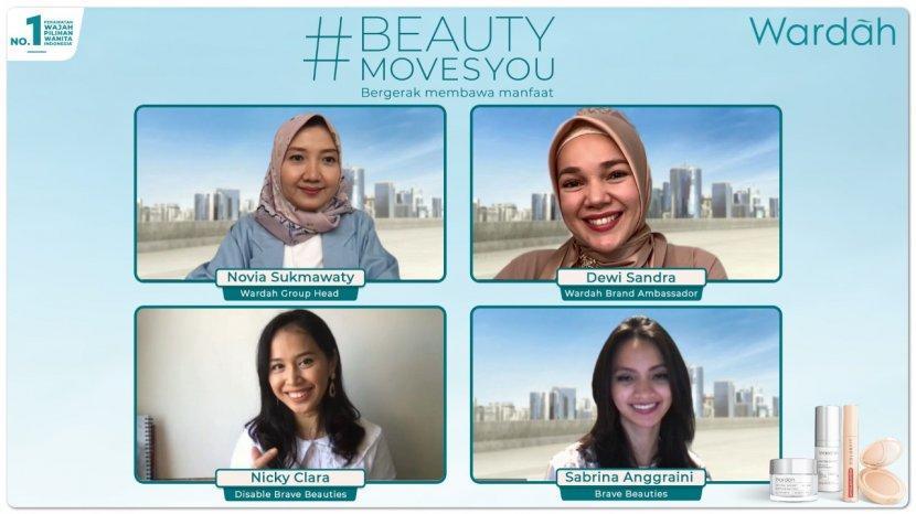 Luncurkan Campaign Beauty Moves You Wardah Berkomitmen Untuk Bergerak Membawa Manfaat
