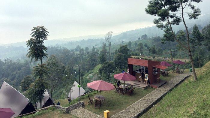 Pemandangan indah di Kema Merbabu di Dusun Guwolelo, Ngagrong, Gladagsari, Boyolali.