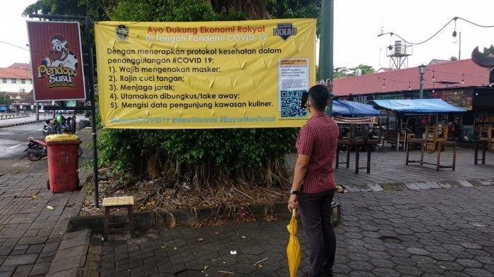 Catat, Kulineran di Alun-alun Utara Yogyakarta Wajib Isi Buku Tamu Digital!