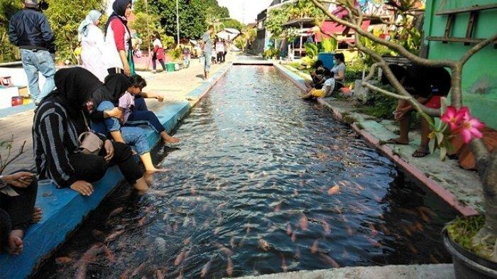 Menengok Bendung Lepen Sungai Gajahwong, Selokan Jadi Tempat Rekreasi
