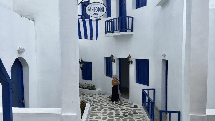 Agrowisata Bhumi Merapi, Tempat Bangunan Mirip Santorini Yunani Berada