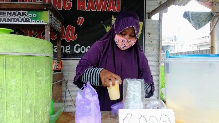 Mereguk Segarnya Es Jagung Bang Goedi di Bantul