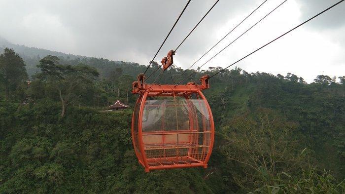 Gondola Wisata Akhirnya Resmi Beroperasi di Lereng Gunung Merapi Klaten