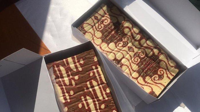 Unik, Kue Brownies hingga Donat Bermotif Batik Ini Bisa Jadi Pilihan Kudapanmu