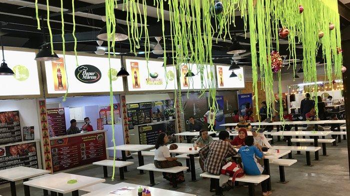 Food Court Milenial Kuliner Lor Tugu, Tempat Nongkrong Nyaman di Pusat Kota Jogja