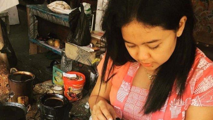 Masker dari Bahan Batik Lukis di Yogyakarta Makin Digandrungi