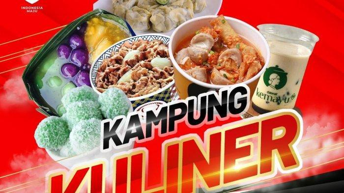 Kampung Kuliner Hadir di Merah Putih Celebration Hartono Mall Yogyakarta