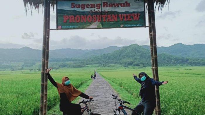 Gowes Sambil Melihat Pemandangan Alam di Pronosutan View Kulon Progo