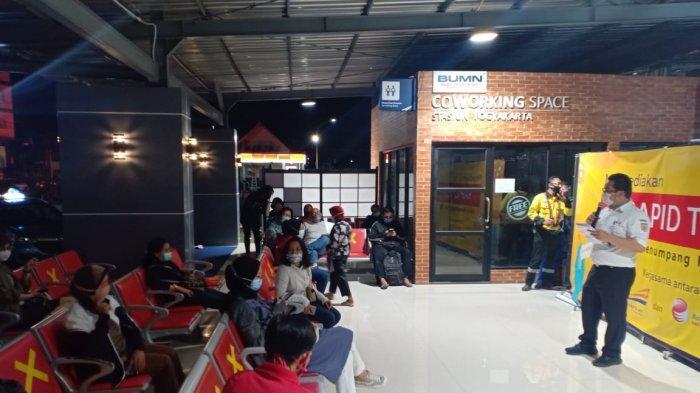 KAI Tambah Lokasi Rapid Test Antigen di Stasiun Lempuyangan