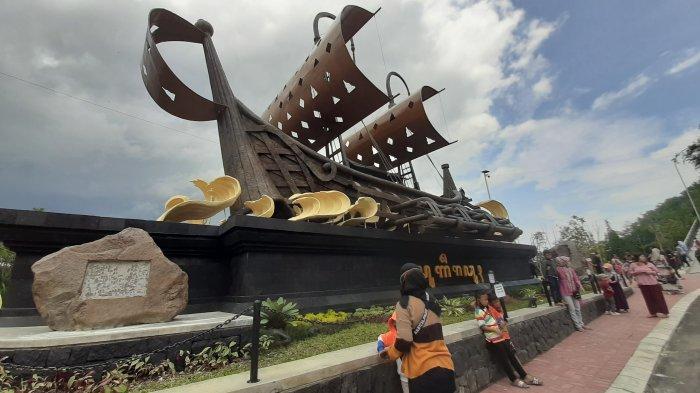 Kapal Samudera Raksa Relief Borobudur yang Terwujud Nyata