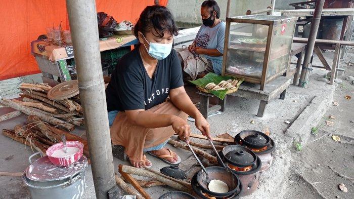 Jajanan Serabi Kocor di Jalan Bantul yang Nikmat Lagi Murah Meriah