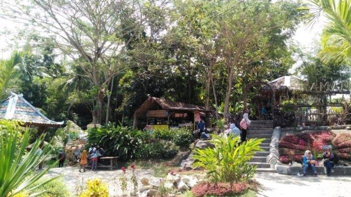 Taman Puspa Gading Tegaldowo Bantul Kembali Ramai Dikunjungi