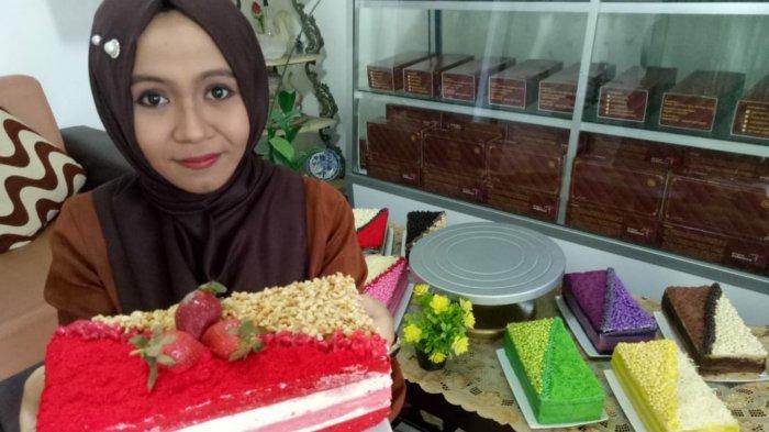 Tiwul Cake Kekinian yang 'Eye Catching'