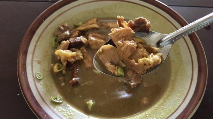 Icip-icip Tongseng Ayam Beraroma Rempah di Tongseng Jago Pak Wardi