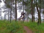 Rekomendasi Trek Sepeda Kategori Ekstrem : Jurang Jero Bike Park