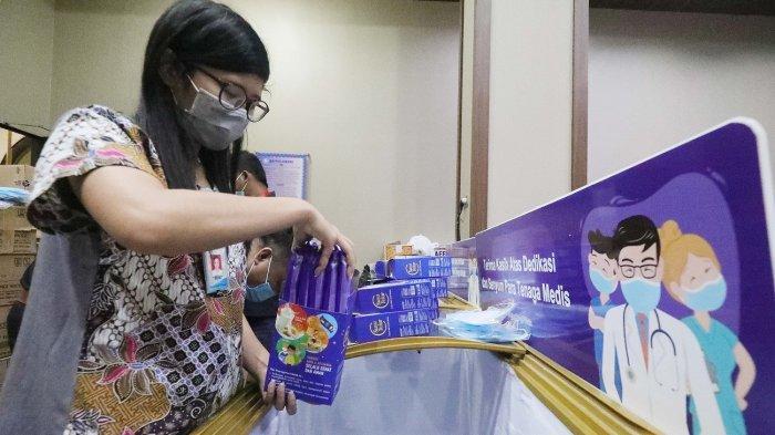 Gandeng GP Ansor, Aice Group Donasikan Es Krim Dengan Kandungan Susu dan Telur ke RS Rujukan Corona