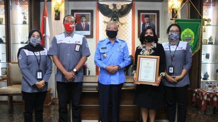 PT Taman Wisata Candi Raih Penghargaan Mitra CSR dari Kabupaten Bantul