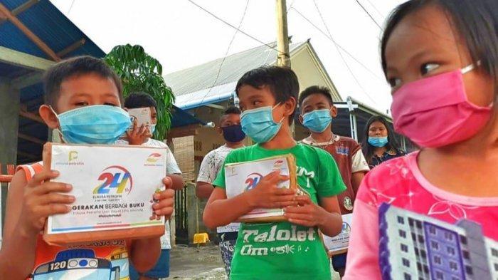 Elnusa Petrofin Rayakan Ulang Tahun ke-24 dengan Bagikan 31.059 Buku untuk Anak-anak