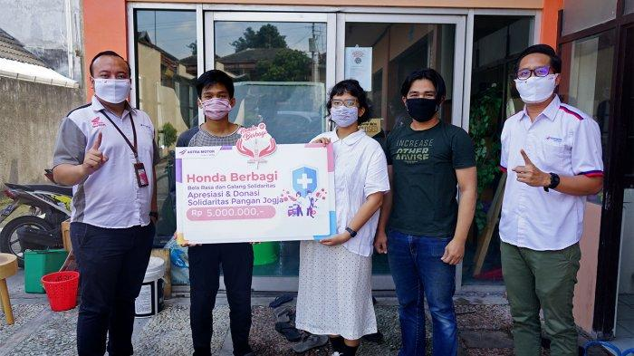 Honda Berbagi, Astra Motor Yogyakarta Serahkan Donasi Tahap Kedua