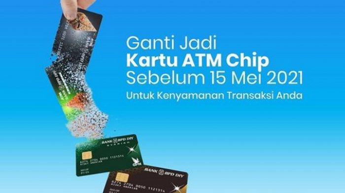 Ganti ATM Lama Bank BPD DIY dengan ATM yang Menggunakan Chip Demi Keamanan Nasabah