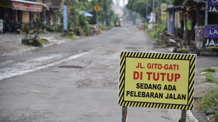 Jalan Gito Gati Diperbaiki, Ditargetkan Juli 2021 Sudah Ada Perluasan Sepanjang 1 Kilometer