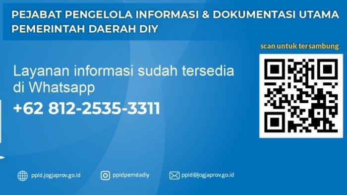 PPID Pemda DIY Berikan Pelayanan Informasi ke Masyarakat