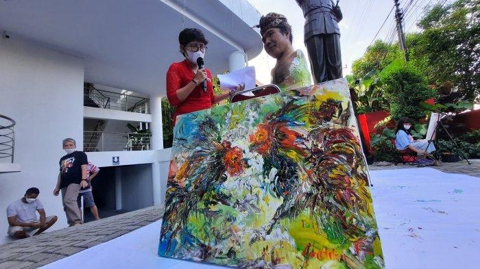 Memotret Yogyakarta Kini, Belasan Perupa Sajikan Realita di Atas Kanvas