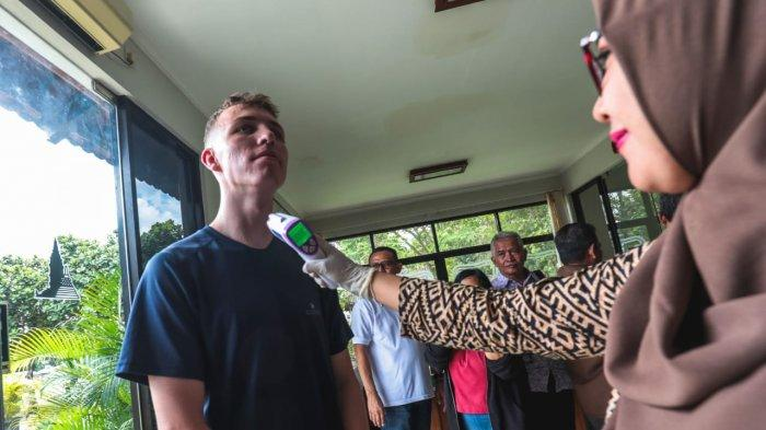 Wisatawan di Candi Prambanan Wajib Lalui Tes Thermal Scanner