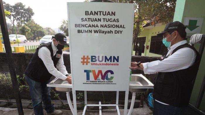 PT TWC Beri Bantuan Wastafel Portabel ke Puskesmas untuk Cegah Covid-19