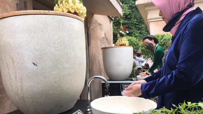 Dukung Protokol Kesehatan, BOB Serahkan Wastafel Portable di Tamansari Yogyakarta