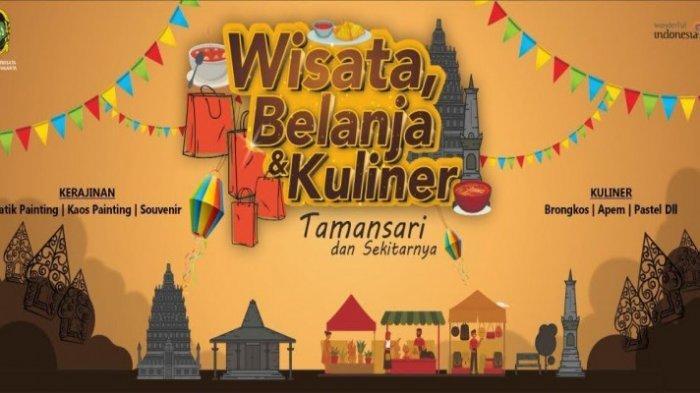 Wisata Belanja dan Kuliner Taman Sari Tampilkan Beragam Produk Unggulan dari Batik Hingga Brongkos